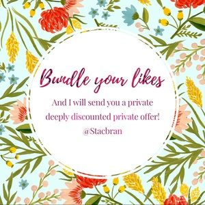 Bundle your likes, even if it's just 1 item!