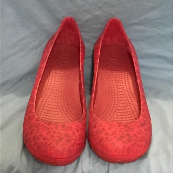 ebc125a09a4f CROCS Shoes - CROCS Carlisa Mini Wedge size 9 W