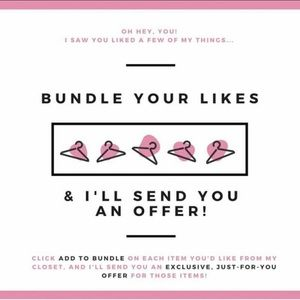 bundle your likes and get a cheap deal 🙃💕