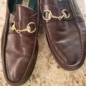 Shoes - GUCCI 1953 Horsebit leather loafer