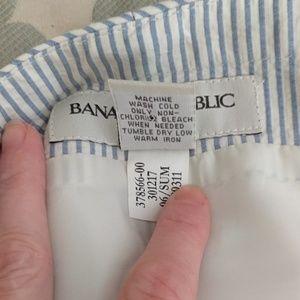 Banana Republic Dresses - BR Seersucker Strapless Dress
