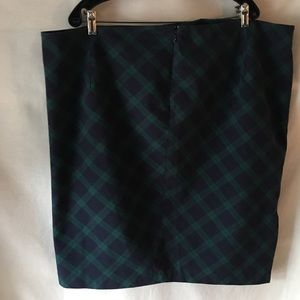 200118a730e Old Navy Skirts - OLD NAVY PLUS SIZE 22 PLAID SKIRT. 97% COTTON.