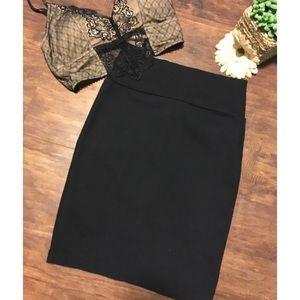 Dresses & Skirts - Small Black high waisted pencil skirt