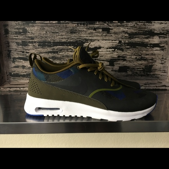 best service b6679 1dc8c Nike Shoes | Womens Air Max Thea Jcrd New Olive Flak | Poshmark