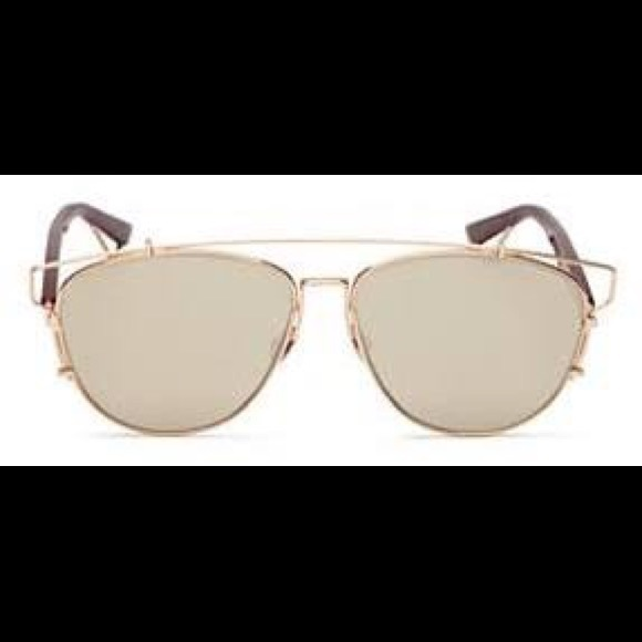 9ee52938ed60 Christian Dior Accessories - Dior Technological Gold Sunglasses
