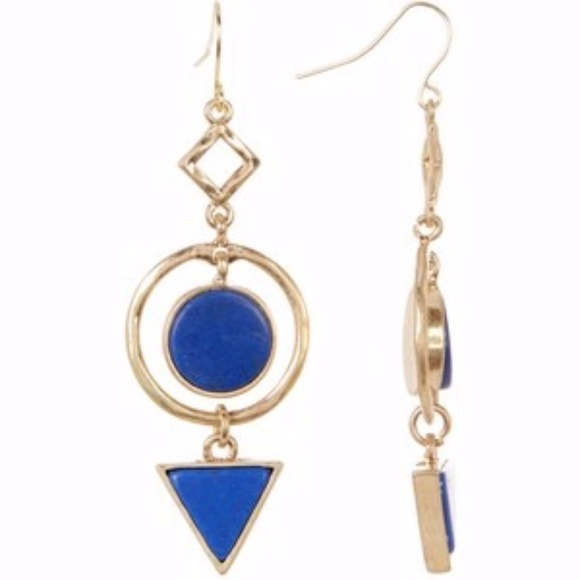 af3aaafcd Nordstrom Jewelry | 14th Union Circle Triangle Stone Linear Earrings ...