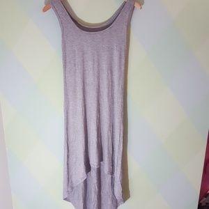 Jersey-T knit high-low dress- NWOT