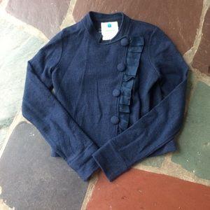 Anthropologie 100% wool jacket
