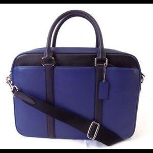 Coach Slim Briefcase Laptop work/school bag