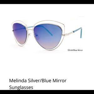 Accessories - Melinda Blue mirror sunglasses
