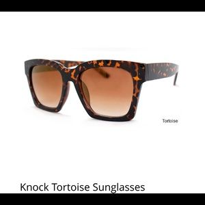 Accessories - Knock Tortoise Sunglasses