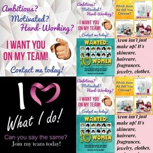 Become an Avon Representative and join my Team!