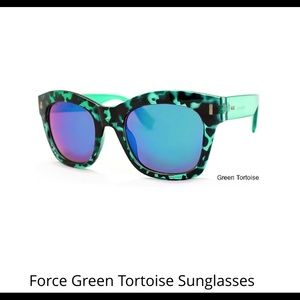 Accessories - Force Green Tortoise Sunglasses
