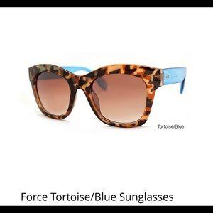 Accessories - Force Blue Tortoise Sunglasses