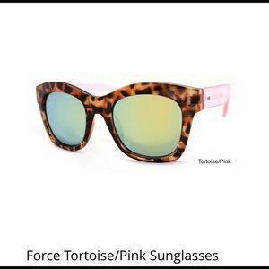 Accessories - Force Pink Tortoise Sunglasses