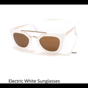 Accessories - Electric White Sunglasses