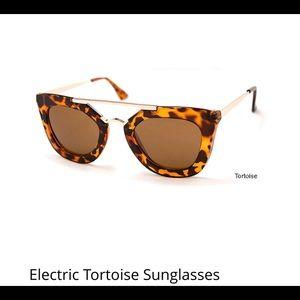 Accessories - Electric Tortoise Sunglasses