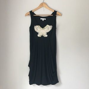 AA Studio Pleated a Butterfly Dress