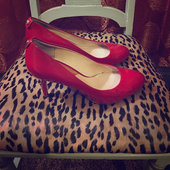 MICHAEL Michael Kors Shoes - Michael Kors patent leather red heels