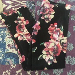 Pants - Floral Legging