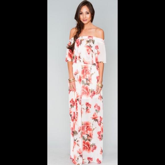 12c5fb48074 Hacienda Maxi Dress - Romuntic Rose