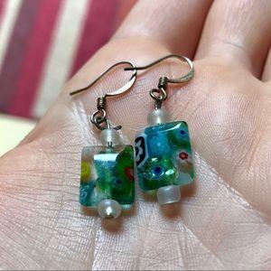 Cute colorful earrings