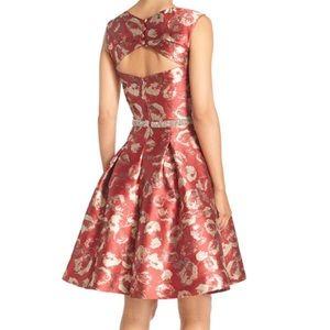 RARE DESIGNER Jacquard Dress