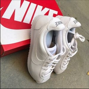 b9eda080ea44 Nike Shoes - NWB 👟 NIKE CORTEZ TRIPLE WHITE LEATHER
