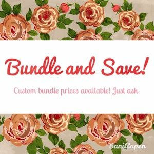 Reasonable Bundle Discounts Offered :)