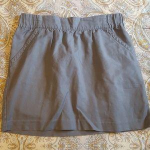Banana republic gray skirt size 10