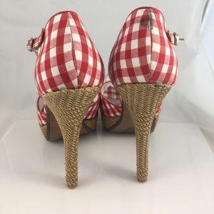 ceb54f984c9 Naughty Monkey - Dreamy Picnic Gingham heels
