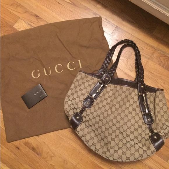 7989b9a2b7a5 Gucci Bags | Pelham Shoulder Bag Brown W Gold Hardware | Poshmark
