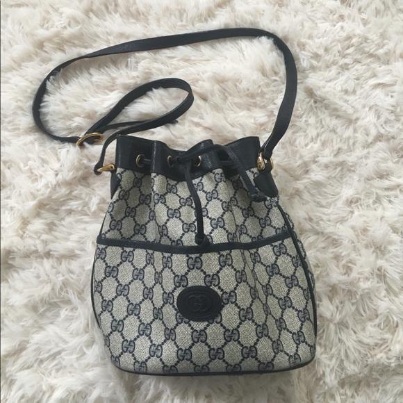 29fad984027f Gucci Handbags - Vintage Gucci bucket bag