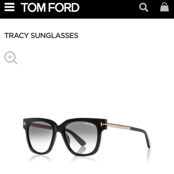 db568237e20b NWOT Tom Ford Tracy Sunglasses. M 5988be31f09282e9d50cbc26. Other  Accessories ...