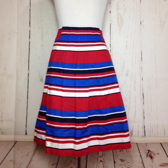 df42879bc6 Joules Skirts | Striped Skirt Us 14 | Poshmark