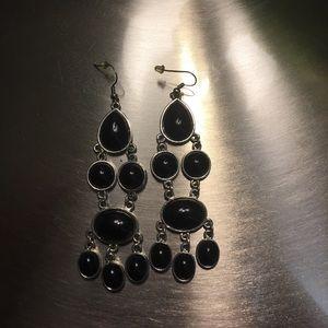 Jewelry - Black Beauty Dangle Earrings