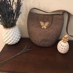 Handbags - Woven Bucket Bag Vintage