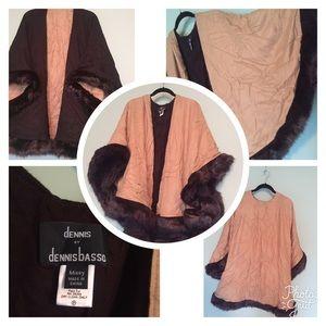 Jackets & Blazers - Dennis basso cape