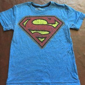 Vintage Looking Blue DC Superman Shirt