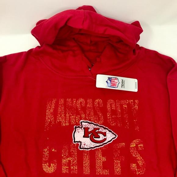 the latest c1849 16009 Kansas City Chiefs Plus Size Women's Hoodie Boutique