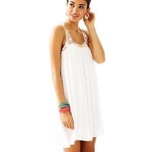 NWT Lilly Pulitzer 'Lorna' trapeze beaded dress