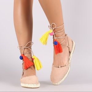 Shoes - Tassel Espadrilles Flats
