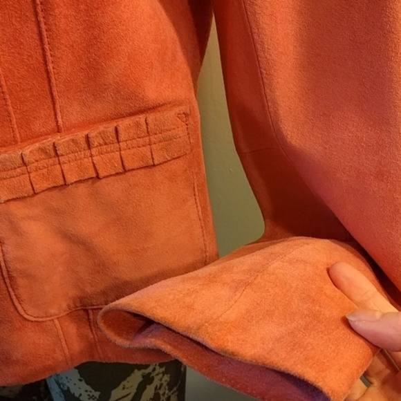 Bernardo Jackets & Coats - #Bernardo #Salmon #Suede Jacket