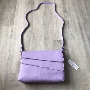 Handbags - Lavender crossbody/clutch purse