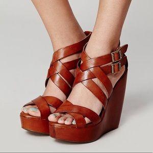 Kork-Ease platform wedge sandals