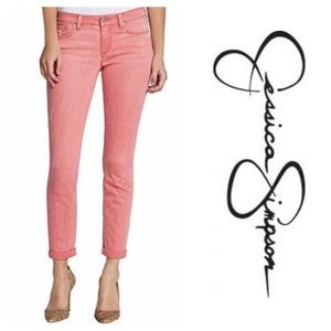 NWOT - Jessica Simpson Rolled Crop Skinny Jeans