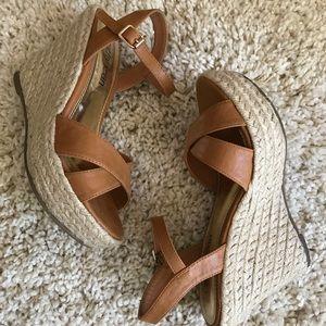Cathy Jean espadrilles wedge sandals