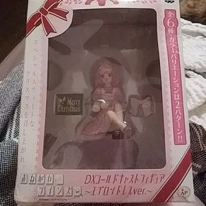 Please twins rare christmas anime dx figure new in