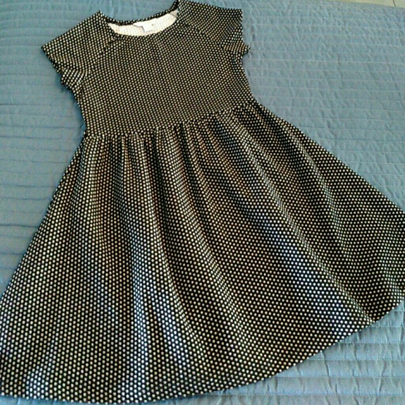 c1f40ff1900 Hartstrings Other - Black Polka Dots Girls Dress KC Parker 12