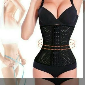 Other - HIGH QUALITY WAIST TRAINER BLACK 4 steel boning